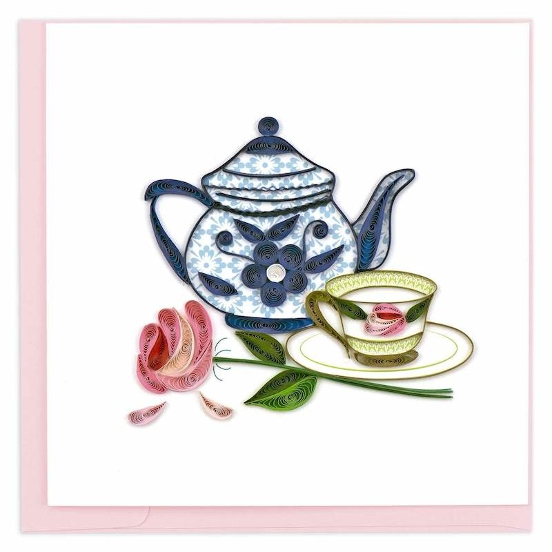 Quilling Cards- Tea Party (Vietnam)
