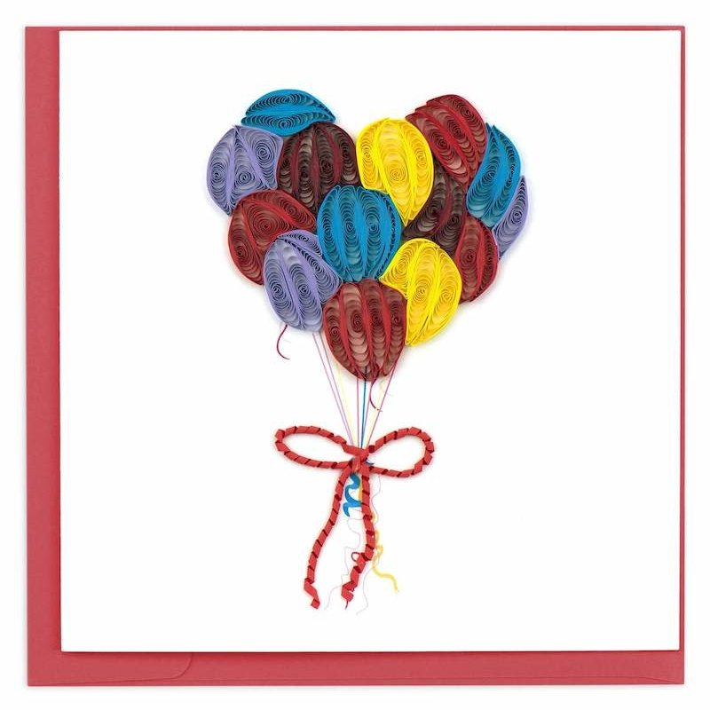Quilling Cards- Balloons (Vietnam)