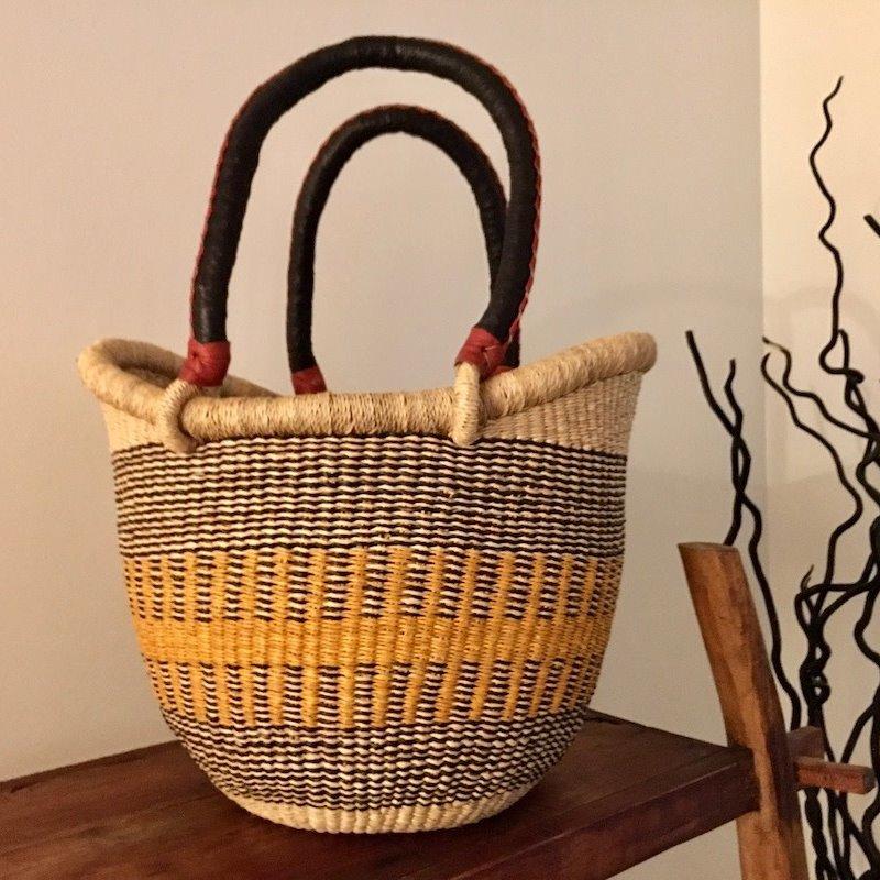 WS- Bolga Basket- Nyariga-Medium (Ghana)