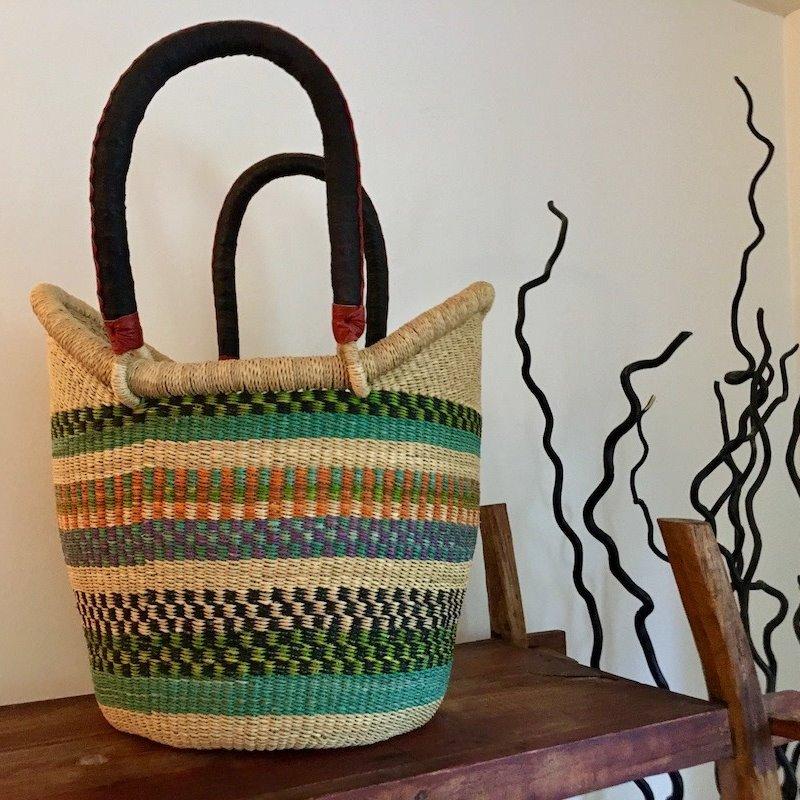 WS- Bolga Basket- Nyariga- Large (Ghana)