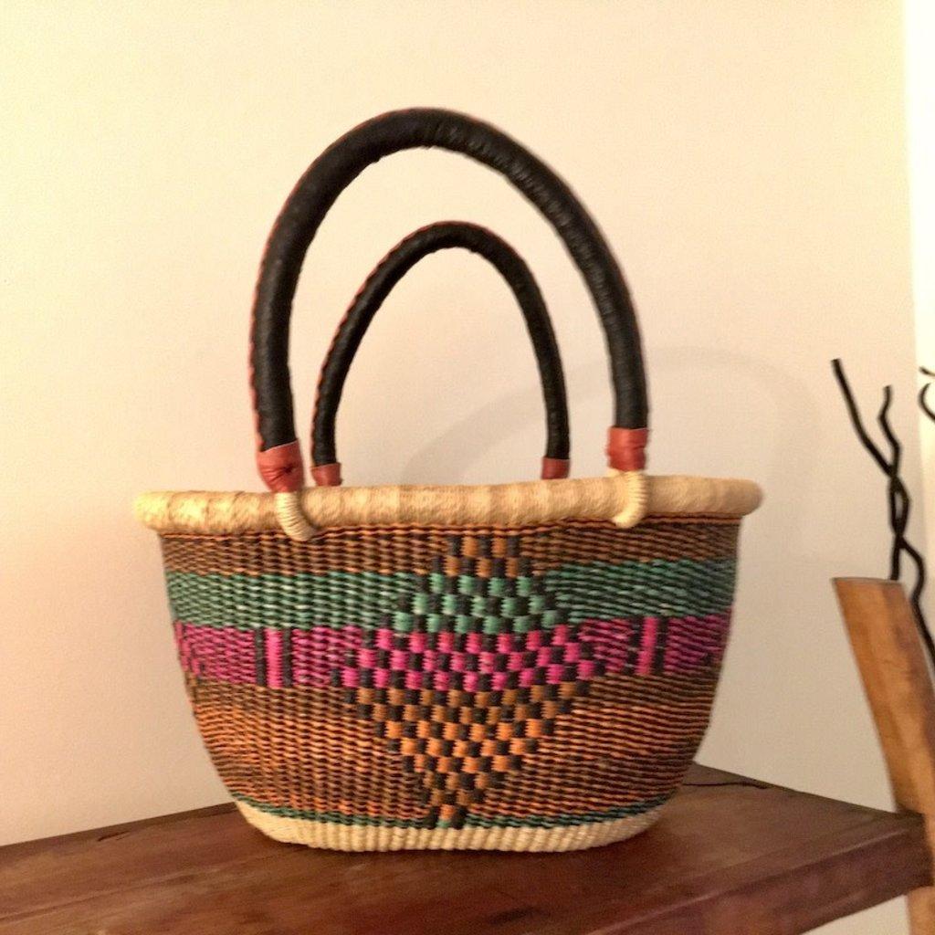 WS-Bolga Basket- Oval-Small (Ghana)