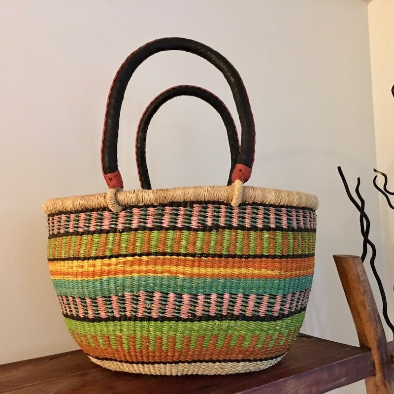 WS- Bolga Basket- Oval-Medium (Ghana)