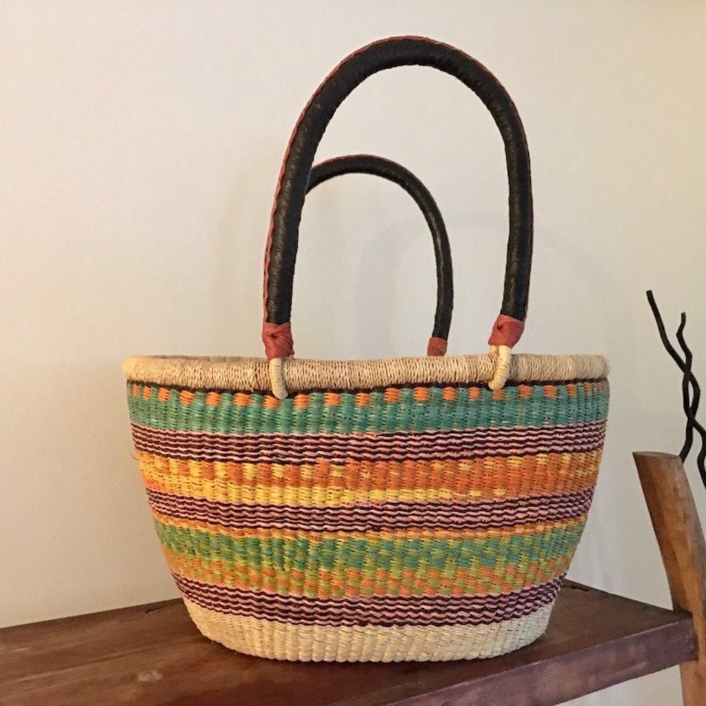 Bolga Basket- Oval-Large (Ghana)