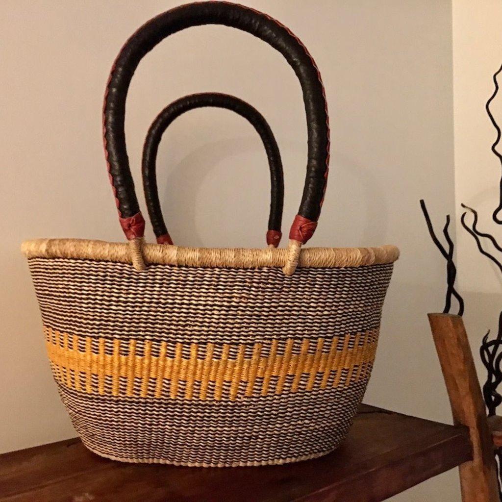 WS- Bolga Basket- Oval-Extra Large (Ghana)