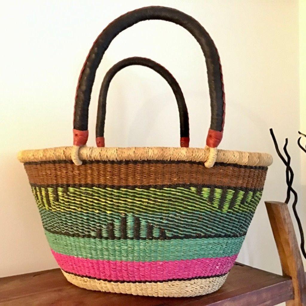 Bolga Basket- Oval-Extra Large (Ghana)