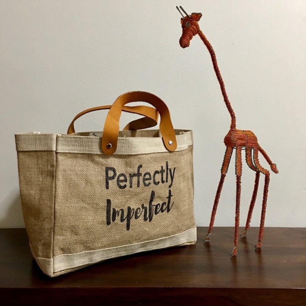 Bag- Mini Market-100% Jute-Perfectly Imperfect (Bangladesh)
