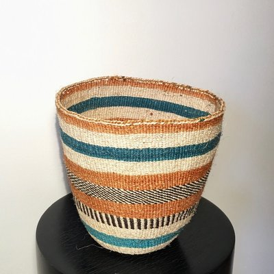 Sisal Kiondo Basket-Fine Weave-Small (Kenya)