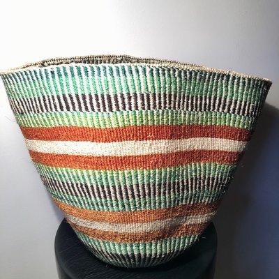 Sisal Kiondo Basket- Fine Weave-Extra Large (Kenya)