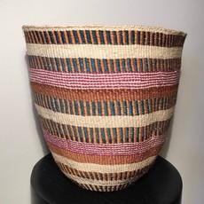 Sisal Kiondo Basket- Fine Weave-Large (Kenya)