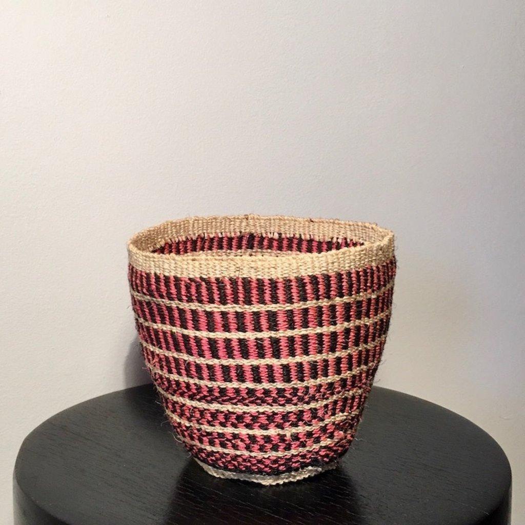 WS- Sisal Kiondo Basket- Fine Weave-Extra Small (Kenya)