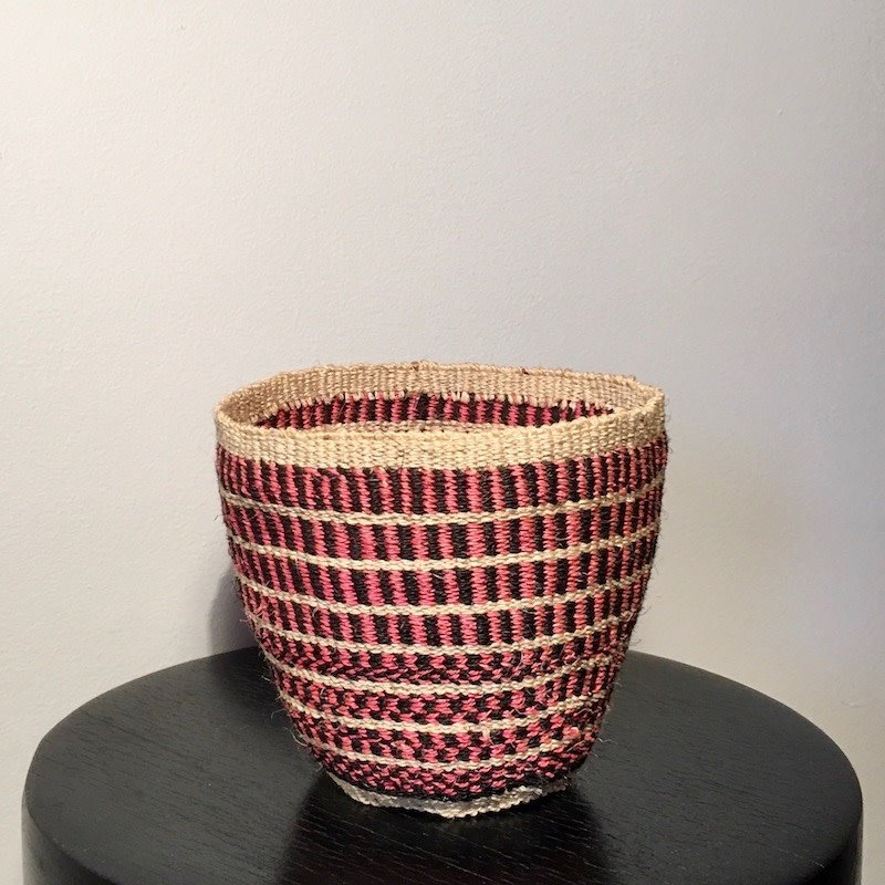 Sisal Kiondo Basket- Fine Weave-Extra Small (Kenya)