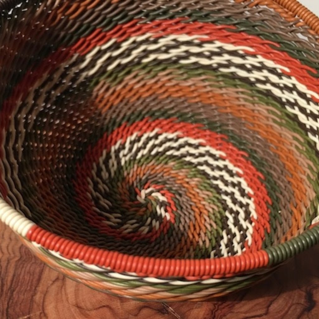 "WS-Bowl- Recycle-Telephone Wire-Round- 4"" (South Africa)"