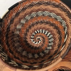 """WS-Bowl- Recycle-Telephone Wire-Round- 4"""" (South Africa)"""