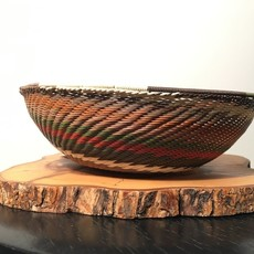 """WS-Bowl- Recycle Telephone Wire-Round-7"""" (South Africa)"""