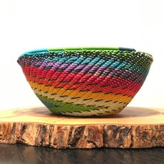 "Bowl- Recycle Telephone Wire-Round-5 .5"" (South Africa)"