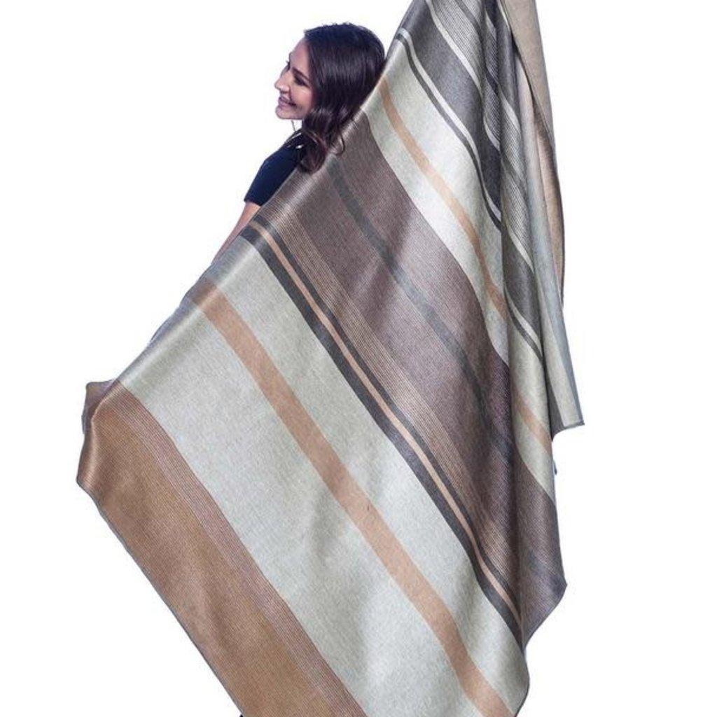 Blanket-Vintage Pearl-Alpaca-70 x 90 (Ecuador)