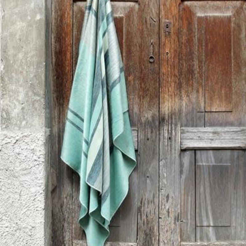 """Blanket-Seafoam-Alpaca-70"""" x 90"""" (Ecuador)"""