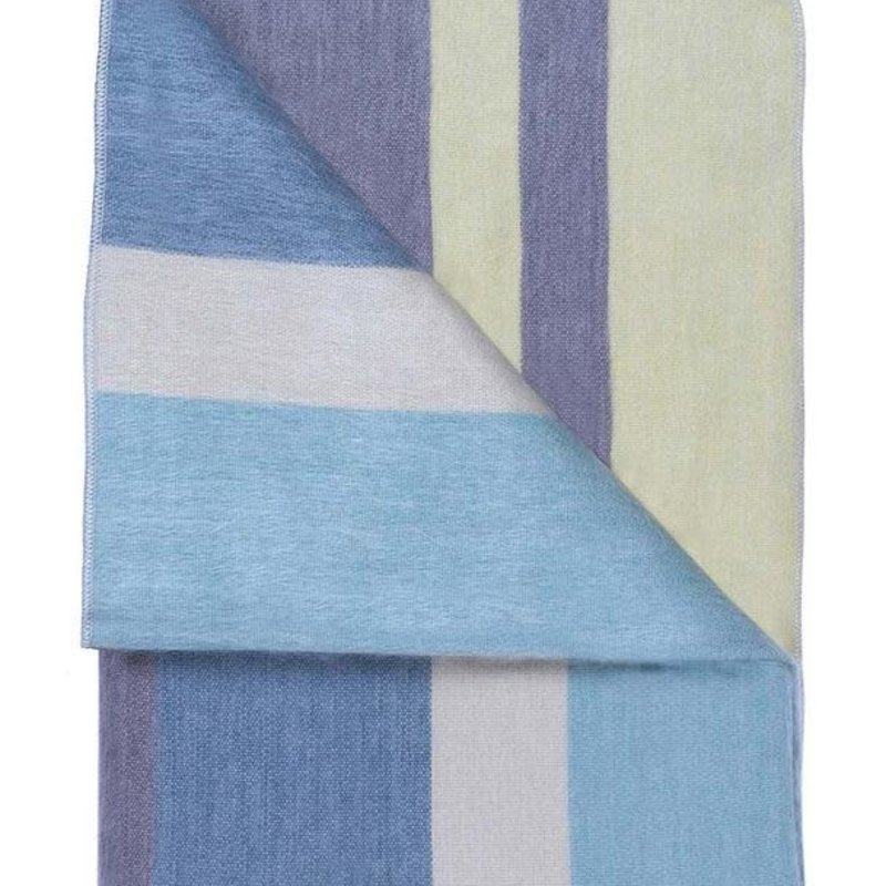 """Blanket-Mineral Blue-Alpaca-70"""" x 90"""" (Ecuador)"""
