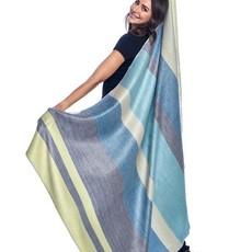 Blanket-Mineral Blue-Alpaca-70 x 90 (Ecuador)