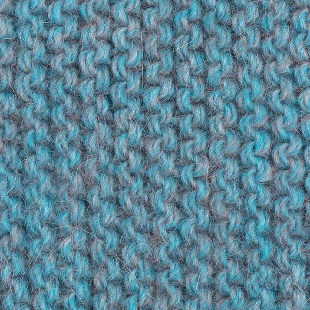 Neck Warmer- Highland-Turquoise-Alpaca/Highland Wool   (Peru)