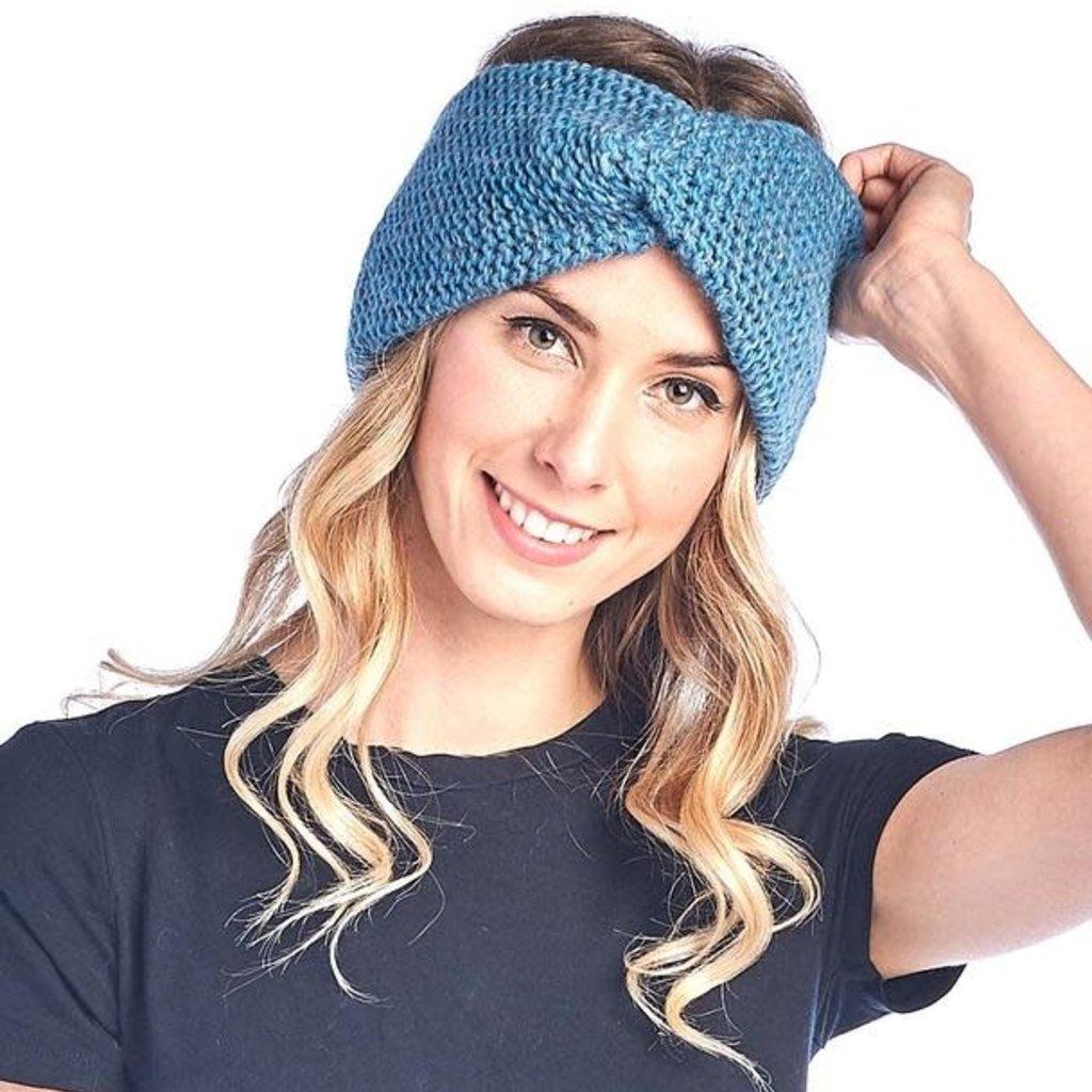 Headband- Highland-Turquoise-Alpaca/Highland Wool  (Peru)