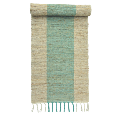 Runner- Table-Vetiver-Turquoise (Indonesia)