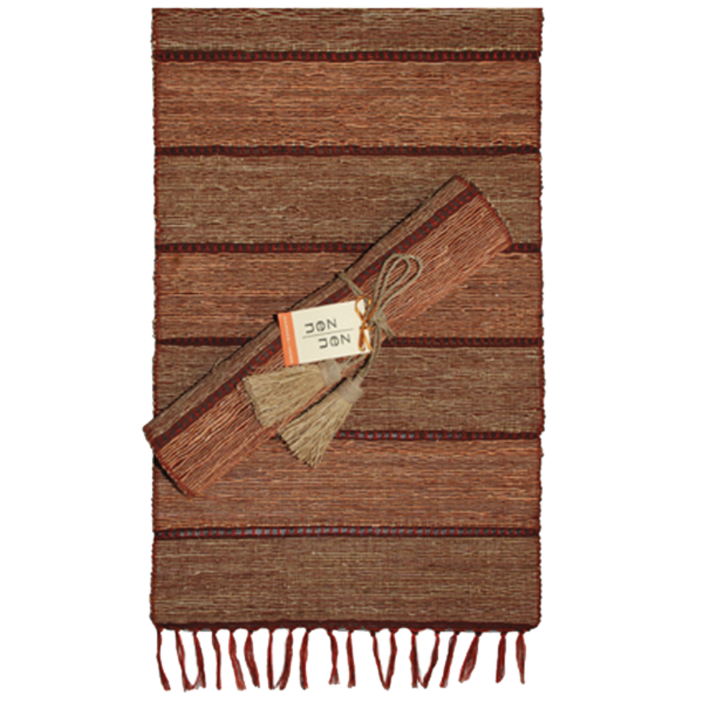 Runner- Table-Vetiver-Stripes-Brick (Indonesia)