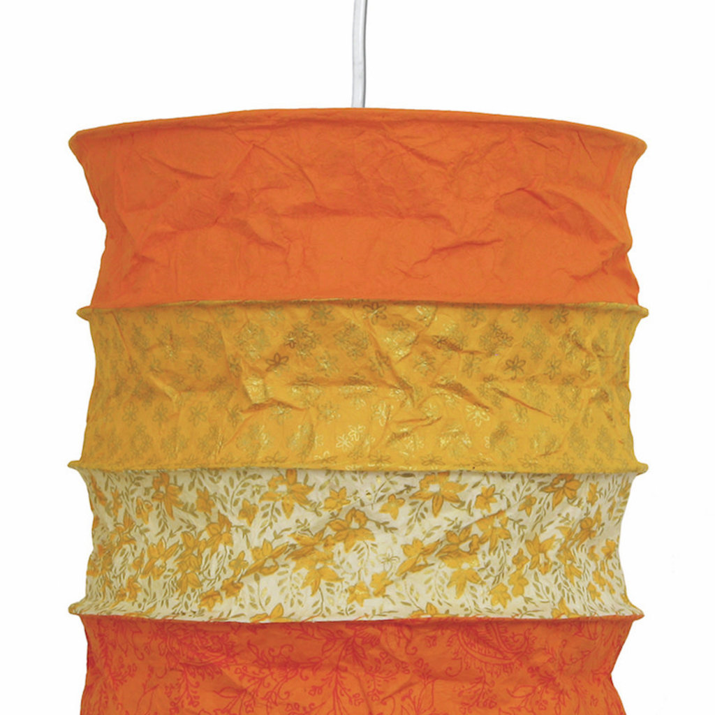 Lantern- Bari-Lokta Handmade Paper (Nepal)