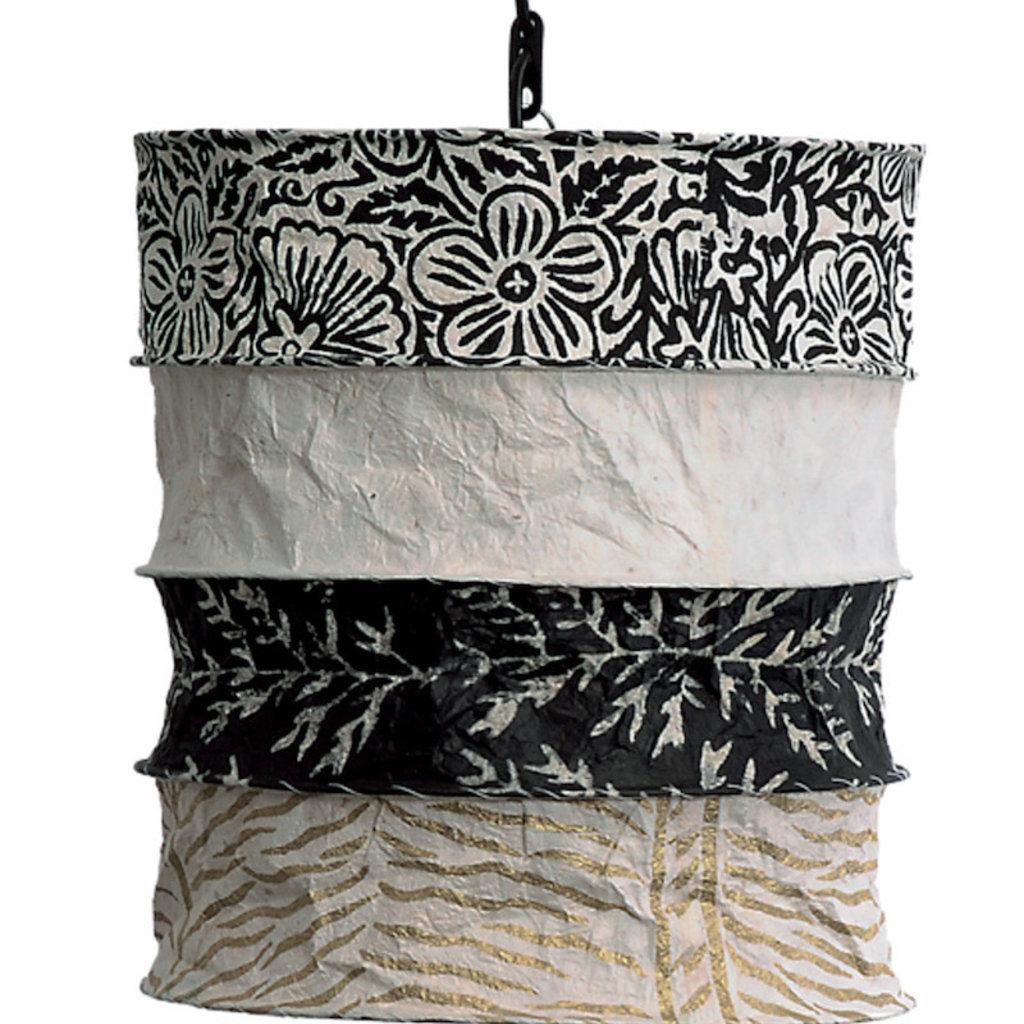 Lantern- Belfast-Lokta Handmade Paper (Nepal)