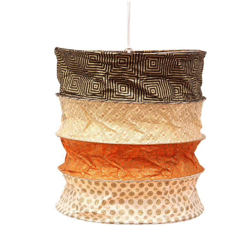 Lantern- Dakar-Lokta Handmade Paper (Nepal)