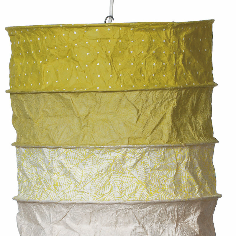 Lantern- Ireland-Lokta Handmade Paper (Nepal)