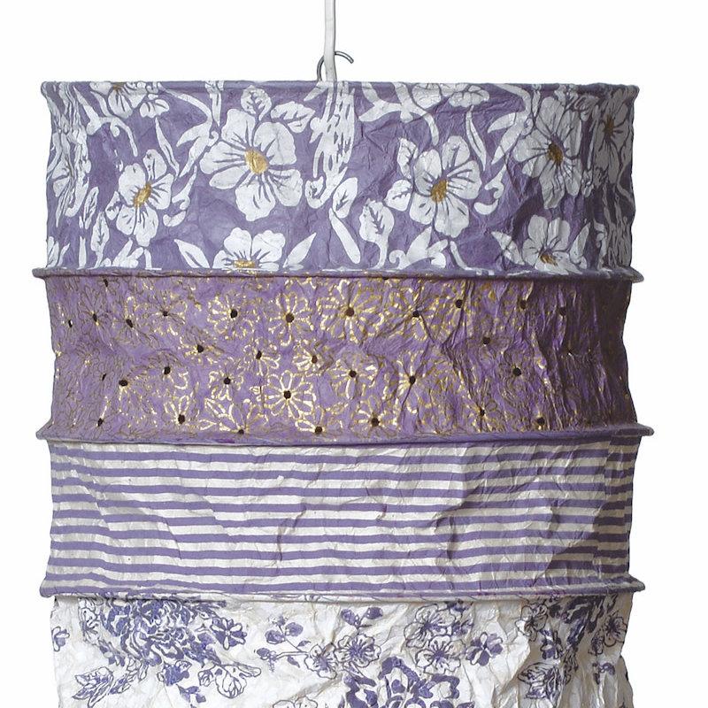 Lantern- Provence-Lokta Handmade Paper (Nepal)