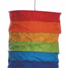 Lantern- Regenbogen-Lokta Handmade Paper (Nepal)