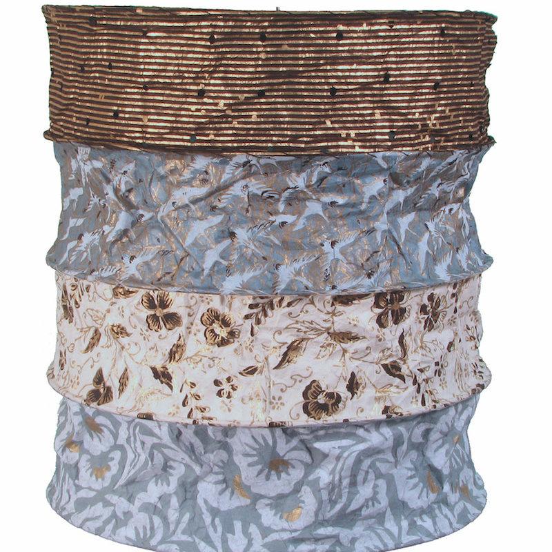 Lantern- Samara-Lokta Handmade  Paper (Nepal)