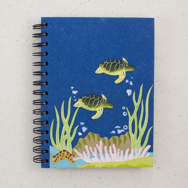 Notebook- Turtle-Dark Blue-Large (Sri Lanka)