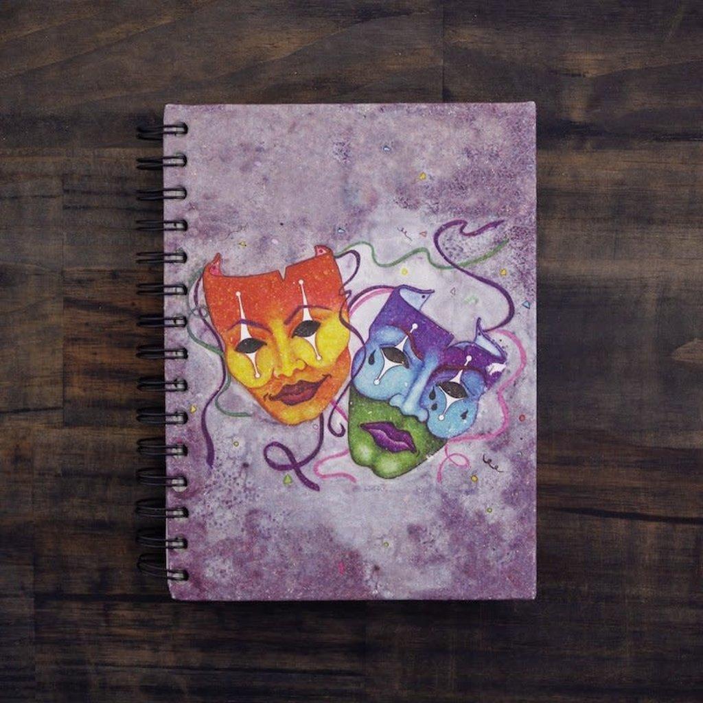 Notebook- Comedy Tragedy-Large (Sri Lanka)