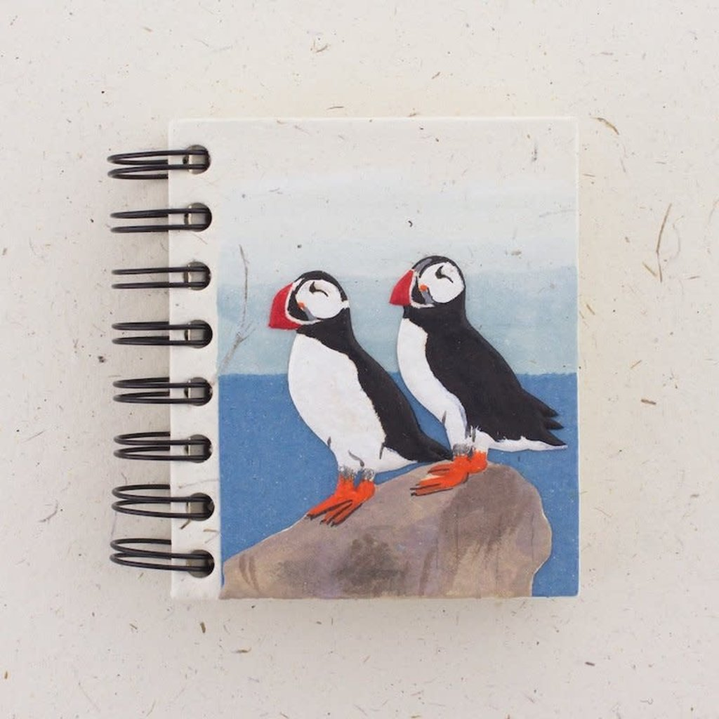 Notebook- Puffin Design-Small (Sri Lanka)