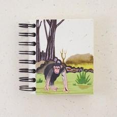 Notebook- Chimpanzee-Natural-White-Small (Sri Lanka)