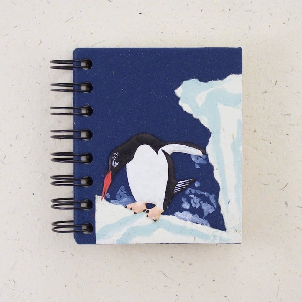Notebook- Penguin Dark Blue-Small (Sri Lanka)
