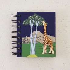 Notebook- Giraffe-Dark Blue-Small (Sri Lanka)