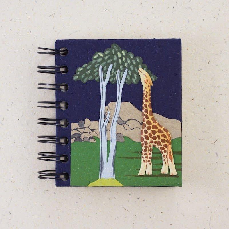 Notebook- Giraffe-Dark Blue-Small (Sri Lanka)