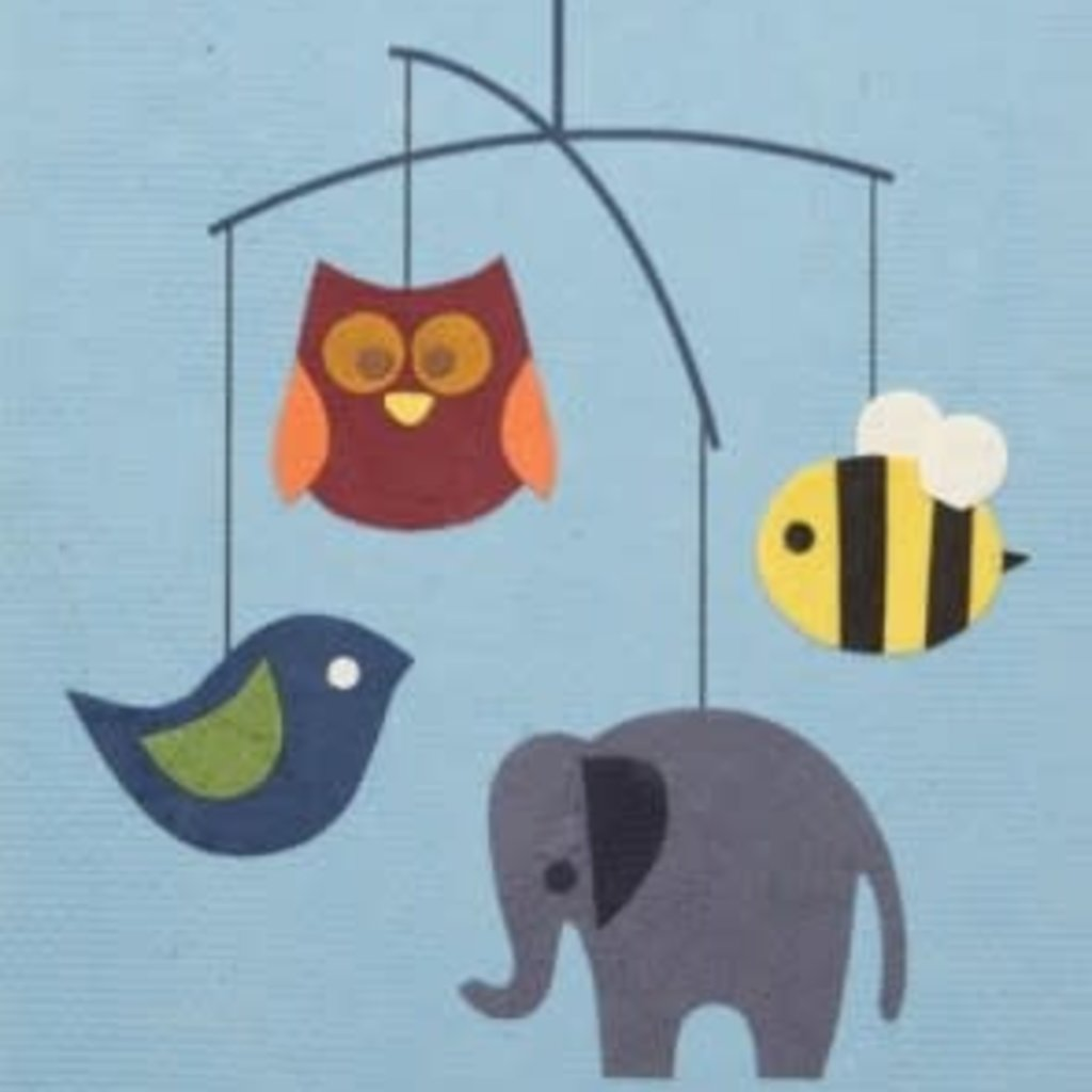 Greeting Card- Animal Mobile (Philippines)