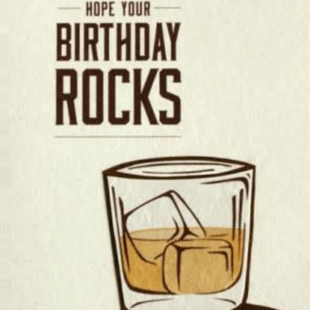 Greeting Card- Birthday Rocks