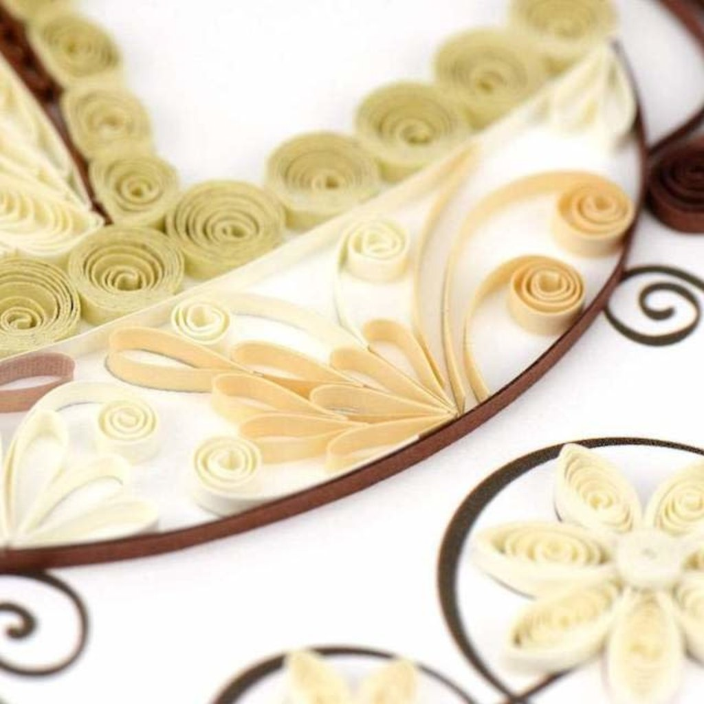 Quilling Cards- Baby Carriage (Vietnam)