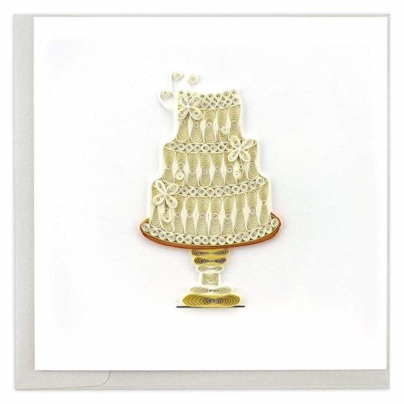 Quilling Cards- Wedding Cake (Vietnam)