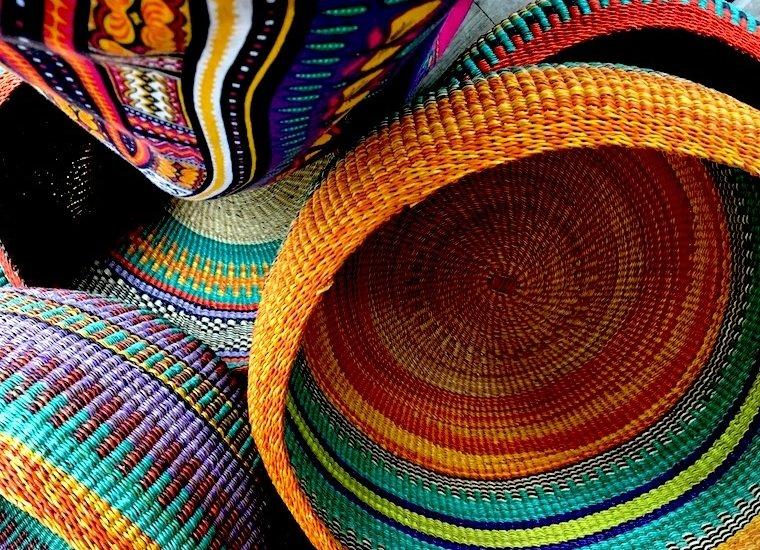 Baskets from Ghana