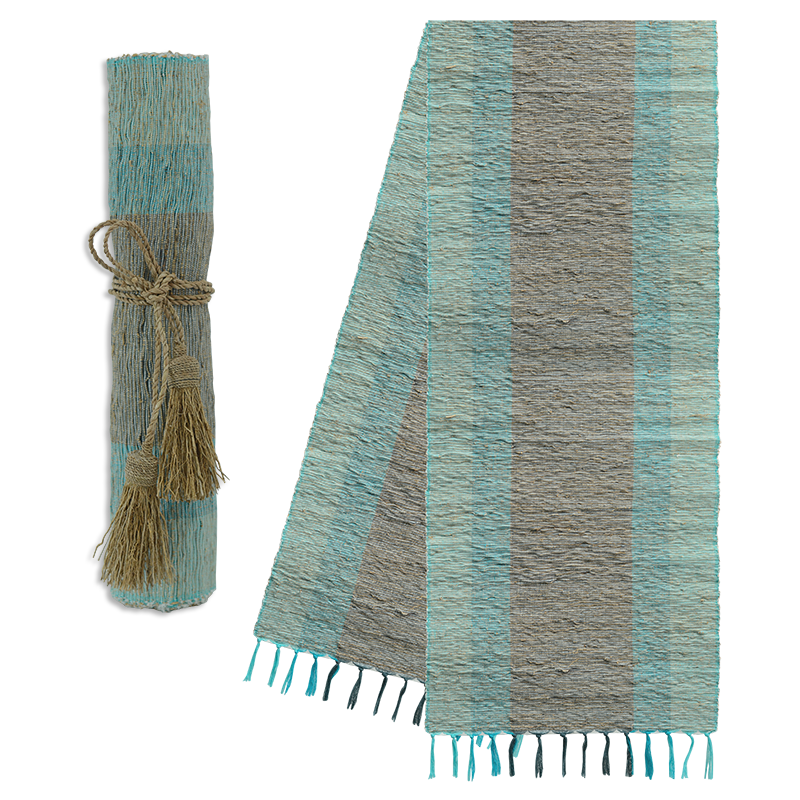 Runner- Table-Vetiver-Turquoise Grey (Indonesia)