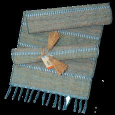 Runner- Table-Vetiver-Stripes-Indigo (Indonesia)