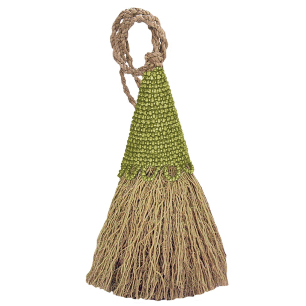 Tassel- Vetiver-Beaded-Green (Indonesia)
