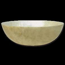 Salad Bowl- Capiz Shell-Natural (Indonesia)